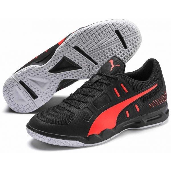 Černé pánské boty na volejbal Puma