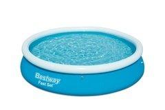 Nafukovací nadzemní kruhový bazén Bestway - průměr 366 cm a výška 76 cm