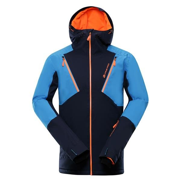 Modrá pánská lyžařská bunda Alpine Pro - velikost 3XL
