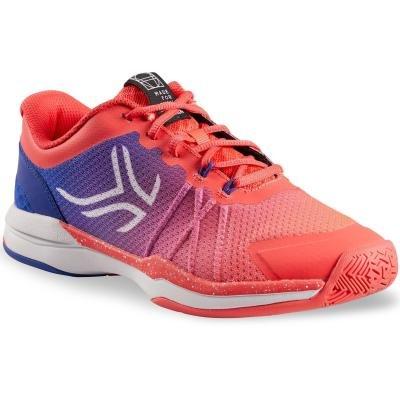 Růžové dámské tenisové boty - obuv TS 590, Artengo