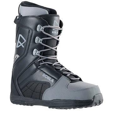Černo-šedé boty na snowboard ROBLA
