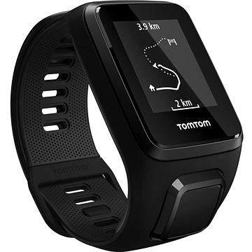 Černé chytré pánské hodinky Spark 3 Cardio + Music, TomTom