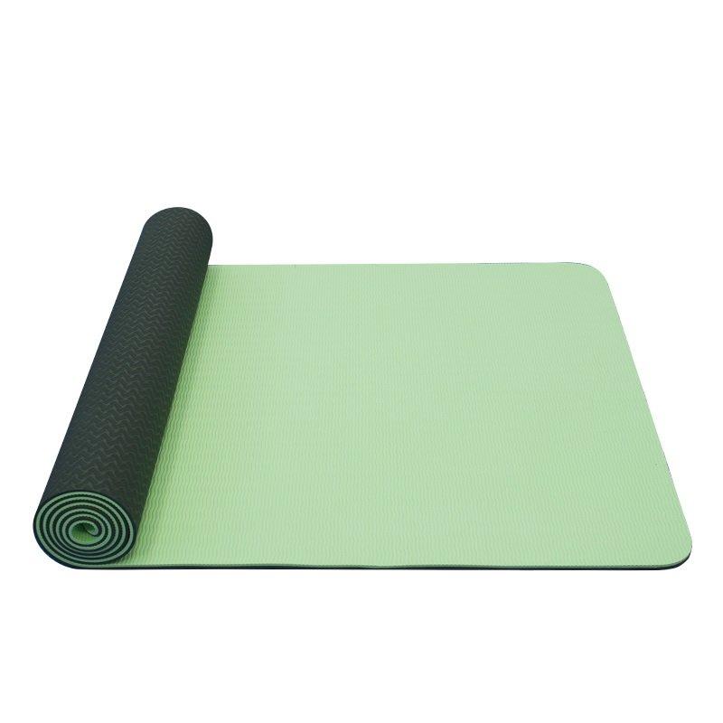 Zelená podložka na cvičení Yate - tloušťka 0,6 cm