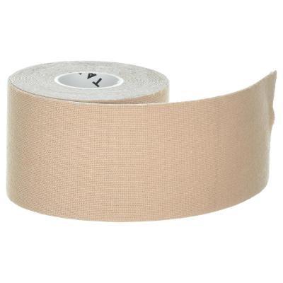 Béžová tejpovací páska - délka 5 m a šířka 5 cm