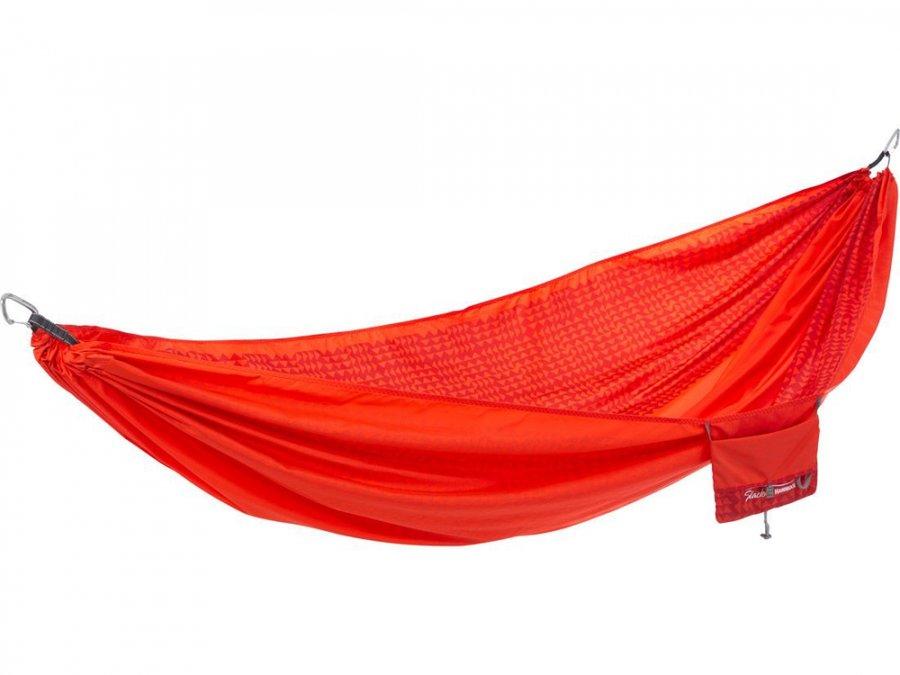 Červená houpací síť Hammock, Therm A Rest