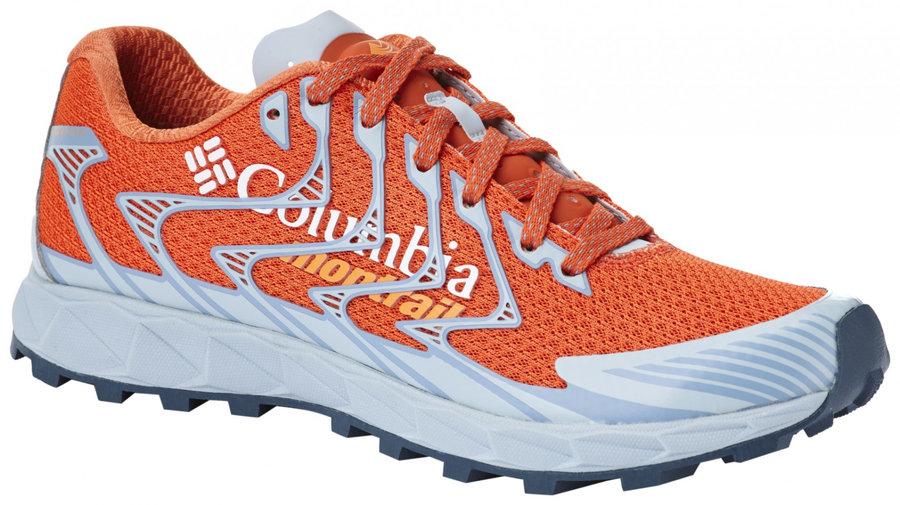 Oranžové dámské běžecké boty Columbia