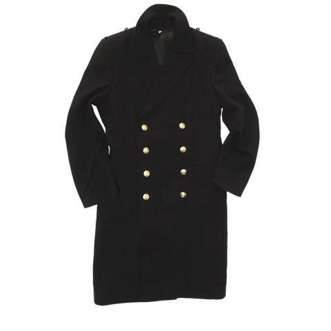 Kabát - Kabát NAVY BW se zlatými knoflíky MODRÝ