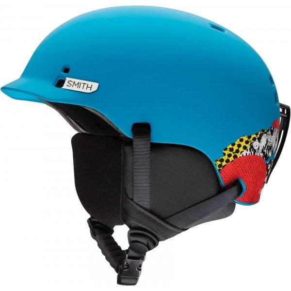 Modrá pánská lyžařská helma Smith - velikost 48-53 cm