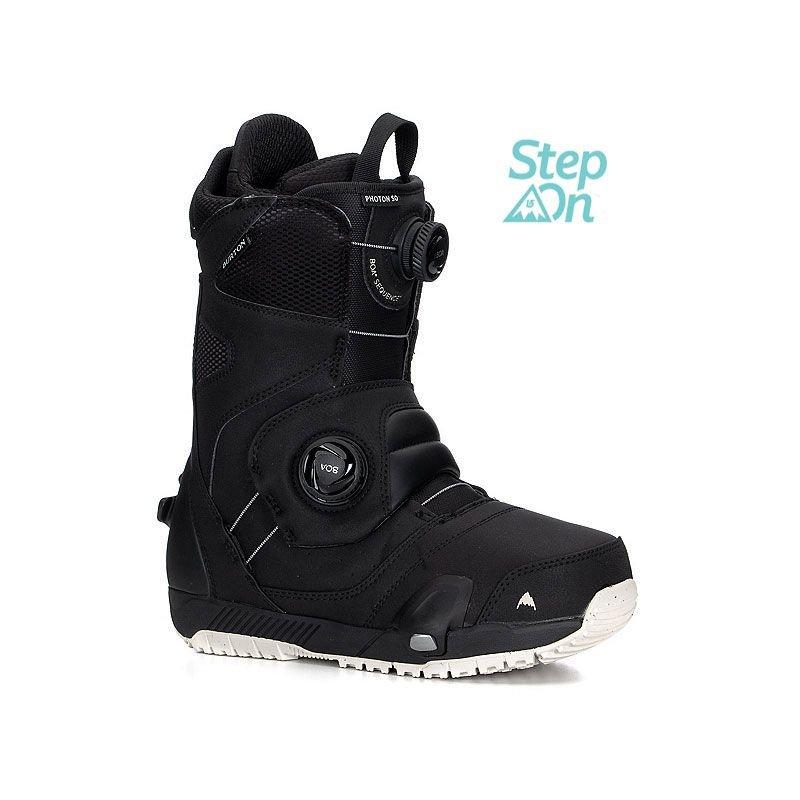 Černé boty na snowboard Burton - velikost 45 EU