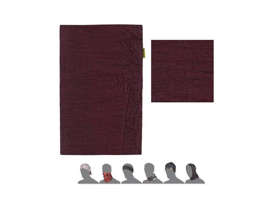 Červený multifunkční šátek Sensor