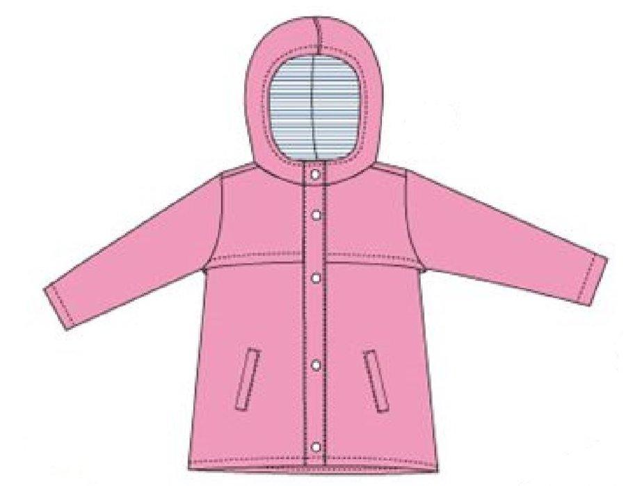 Růžová dívčí bunda Carodel - velikost 104