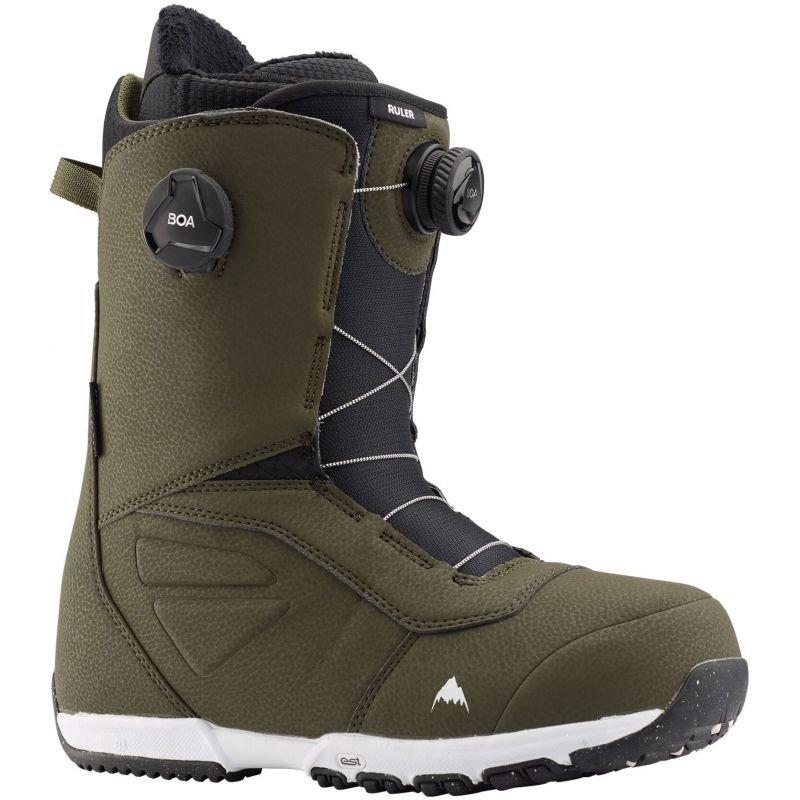 Zelené pánské boty na snowboard Burton
