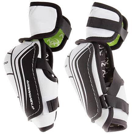 Bílo-černý hokejový chránič loktů - senior Winnwell - velikost XL