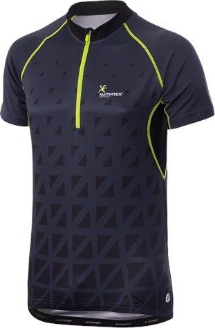 Černo-modrý pánský cyklistický dres Klimatex