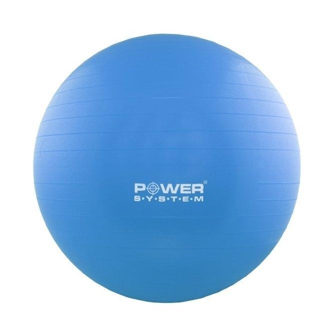Modrý gymnastický míč Power System - průměr 65 cm