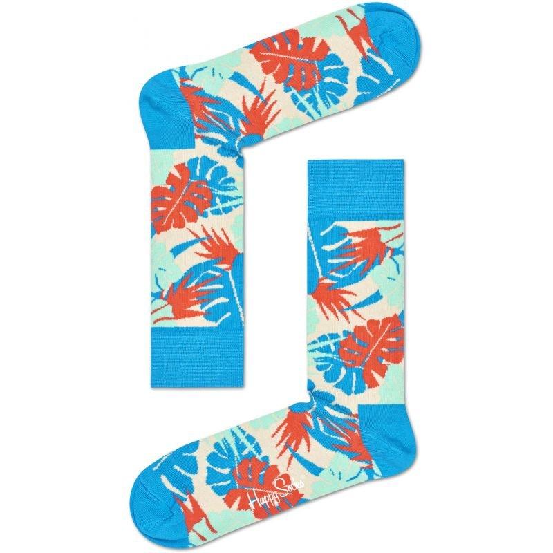 Ponožky - PONOŽKY HAPPY SOCKS JUNGLE - modrá - 41/46