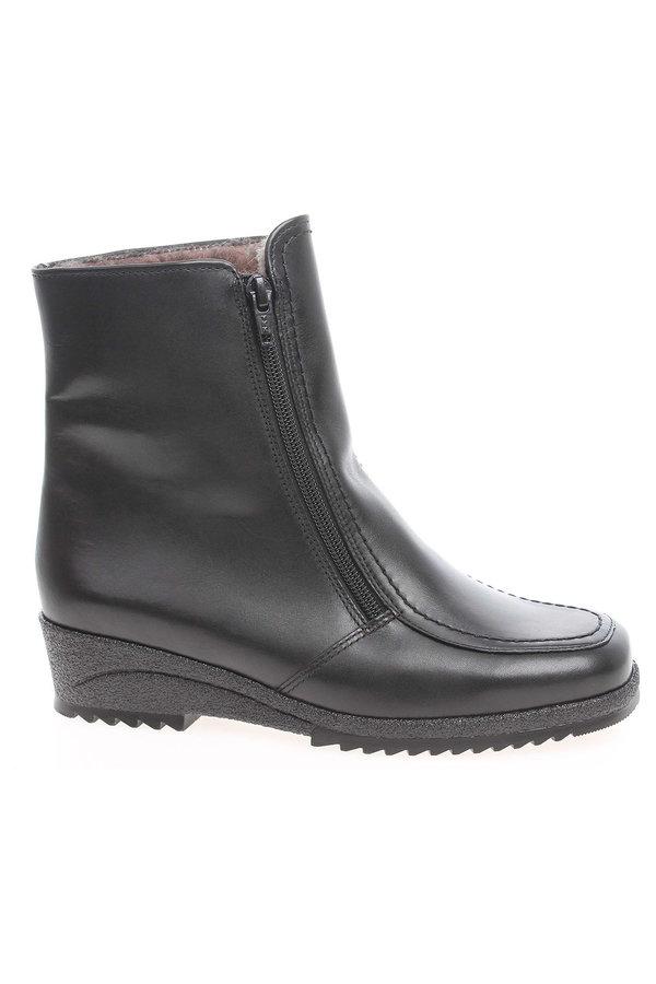 Černé dámské zimní boty Ara