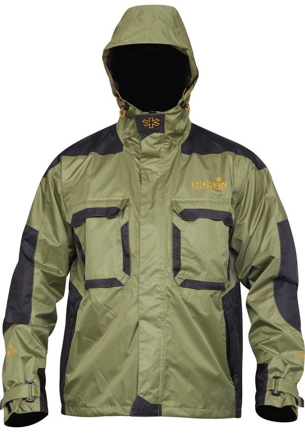 Zelená rybářská bunda Norfin - velikost XXL