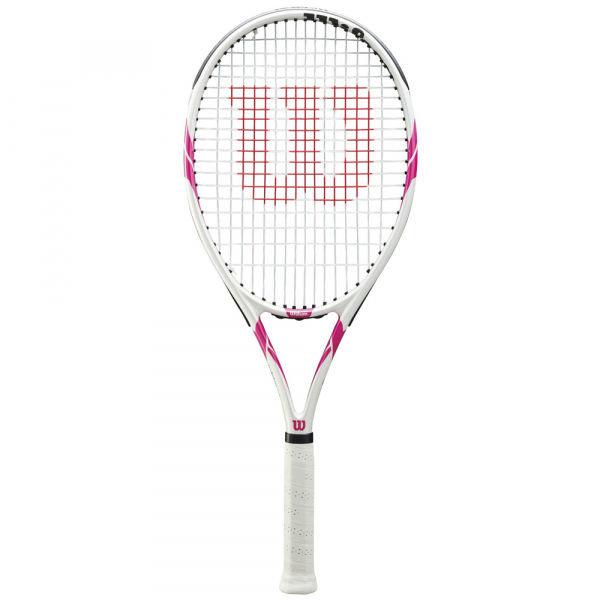 Bílá dámská tenisová raketa Wilson