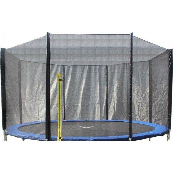 Ochranná síť na trampolínu Aress - průměr 427 cm