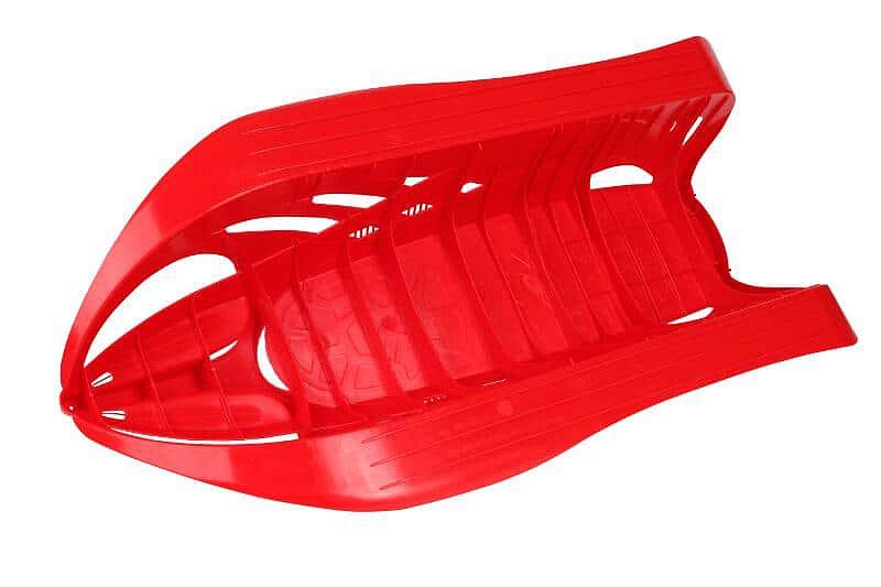 Červené plastové dětské sáňky Merco
