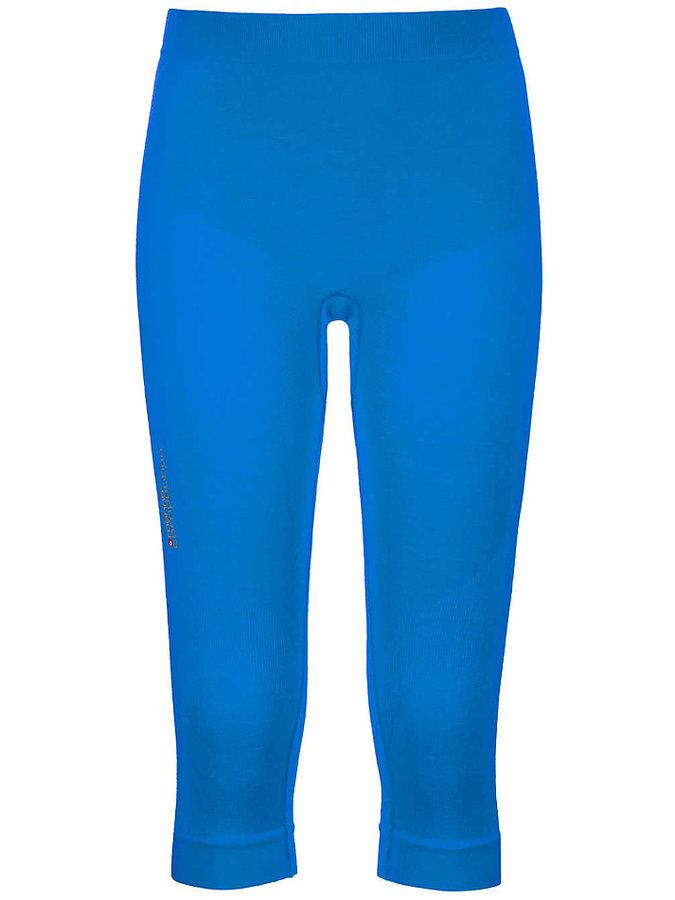 Modré 3/4 dámské termo kalhoty Ortovox
