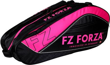 Černo-růžová badmintonová taška Marysu, FZ Forza