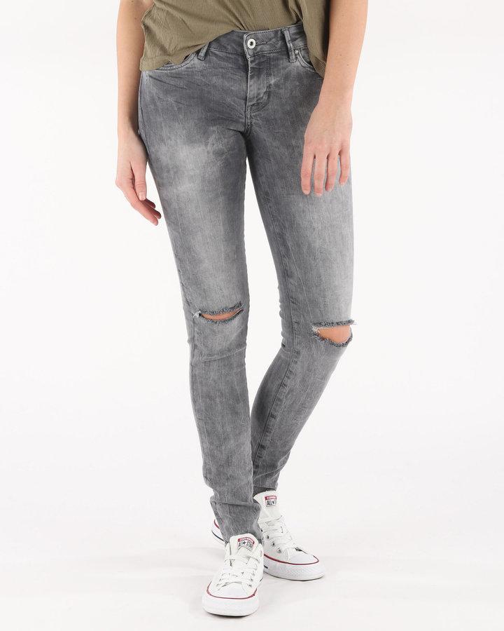 Šedé dámské džíny Pepe Jeans