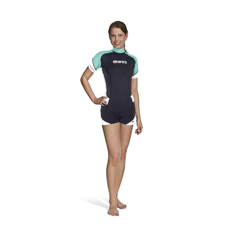 Černo-modré dámské lycrové tričko RILASTIC 2017, Mares - velikost M