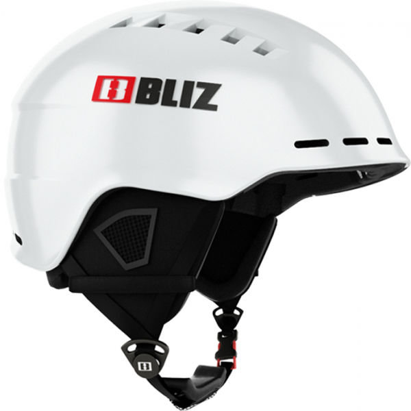 Bílá lyžařská helma Bliz - velikost 58-62 cm