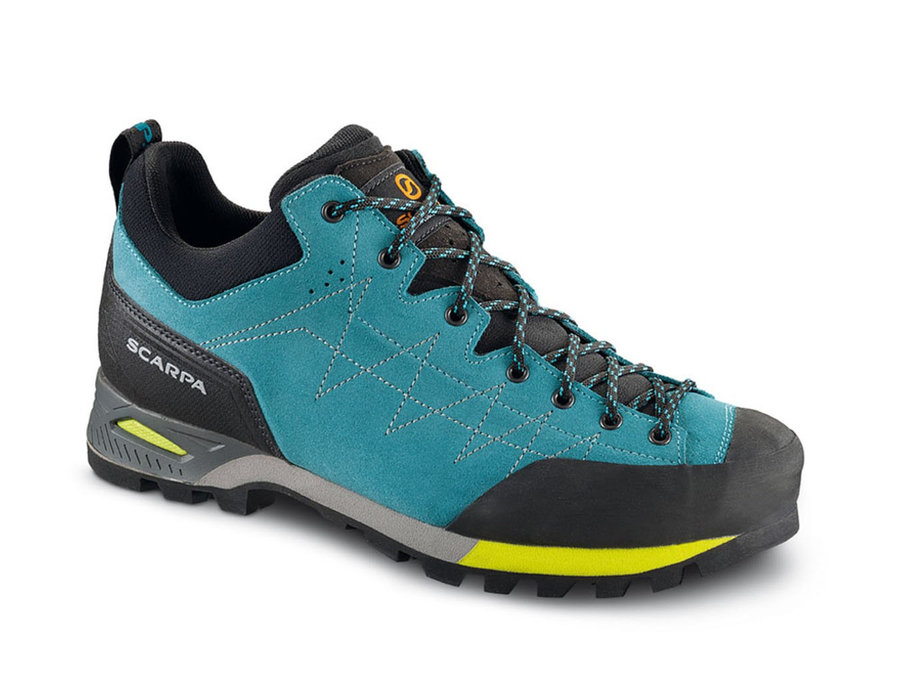 Modré dámské trekové boty Scarpa - velikost 37 EU