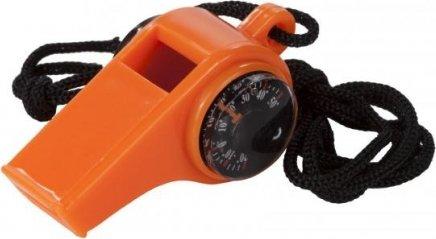 Oranžová píšťalka pro rozhodčího Regatta