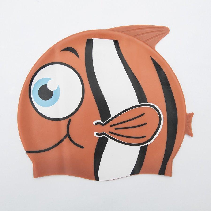Oranžová dětská chlapecká nebo dívčí plavecká čepice Hydro Swim Buddy, Bestway