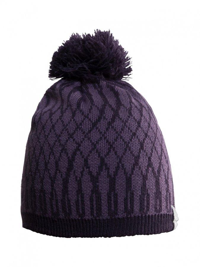 Černá zimní čepice Craft - velikost L-XL