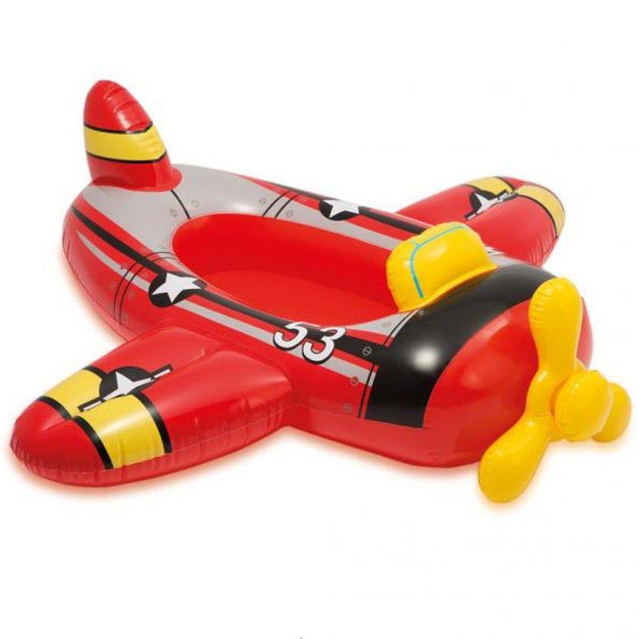 Červený nafukovací člun pro 1 osobu INTEX