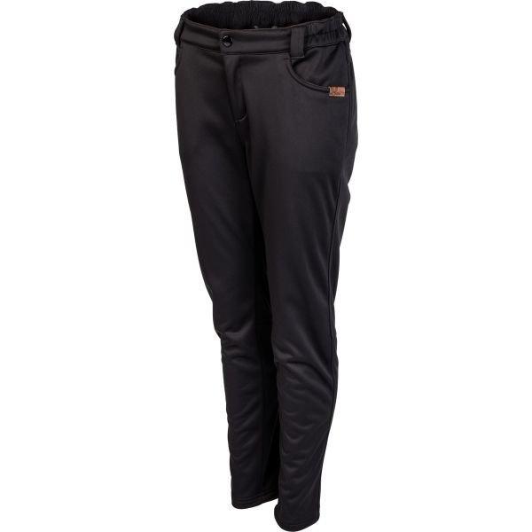 Černé softshellové dámské kalhoty Willard