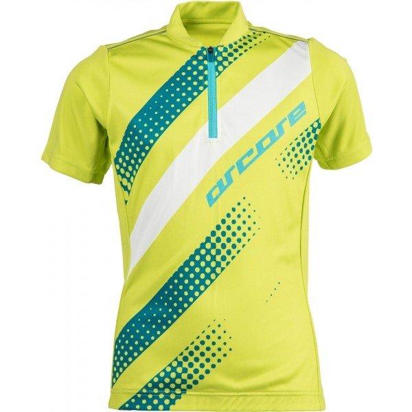 Modro-zelený dětský cyklistický dres Arcore