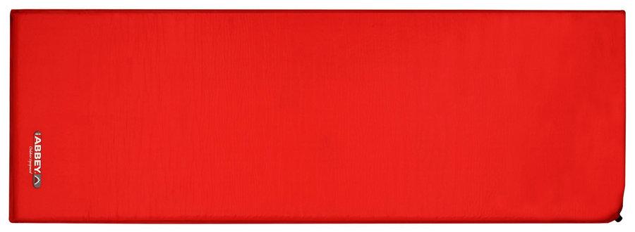 Červená samonafukovací karimatka Abbey Camp - tloušťka 3,7 cm