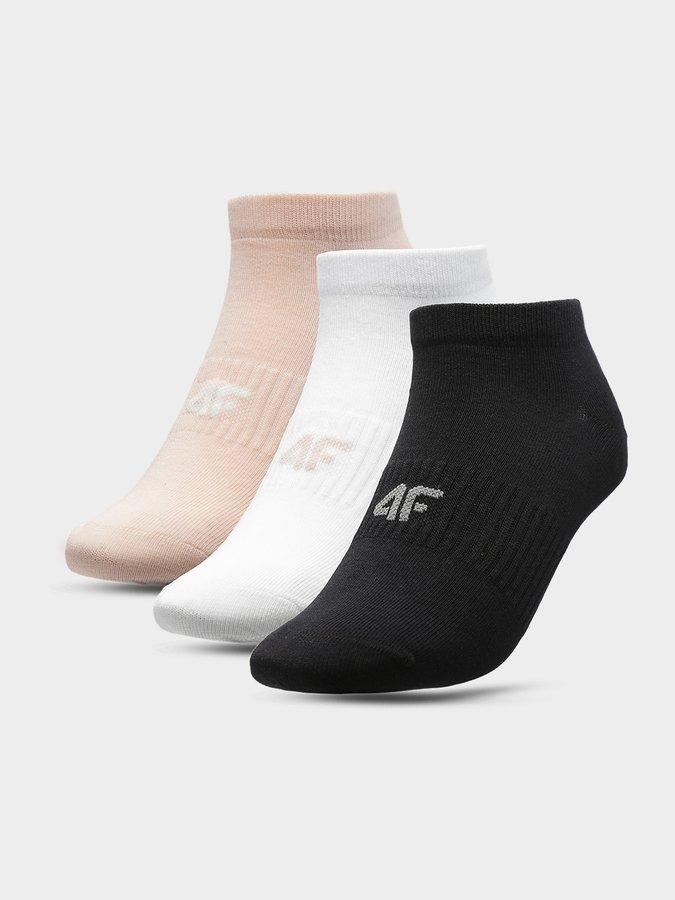 Růžové dámské ponožky 4F