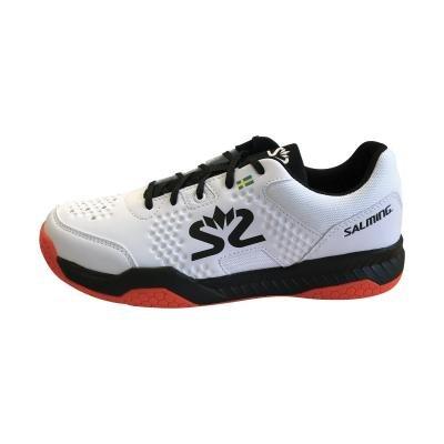 Bílé boty na squash Salming