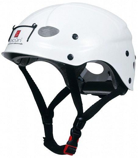 Bílá dámská horolezecká helma Ocún - velikost 54-62 cm