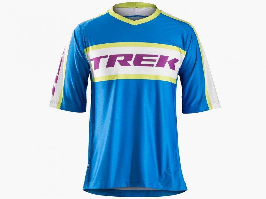 Modrý pánský cyklistický dres Bontrager - velikost M