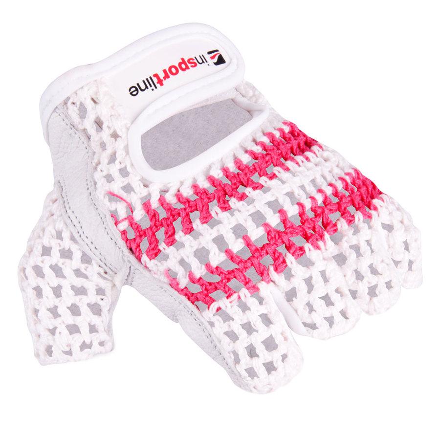 Fitness rukavice - Dámské fitness rukavice inSPORTline Gufa XS