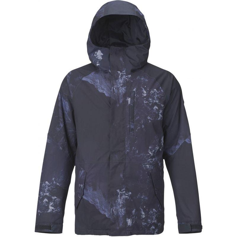 Modrá pánská snowboardová bunda Burton - velikost XL