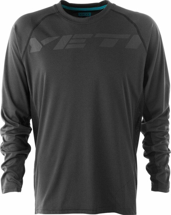 Černý pánský cyklistický dres YETI - velikost L
