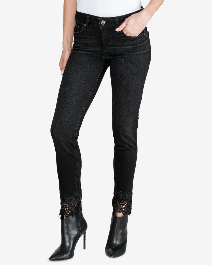 Černé dámské džíny Liu Jo