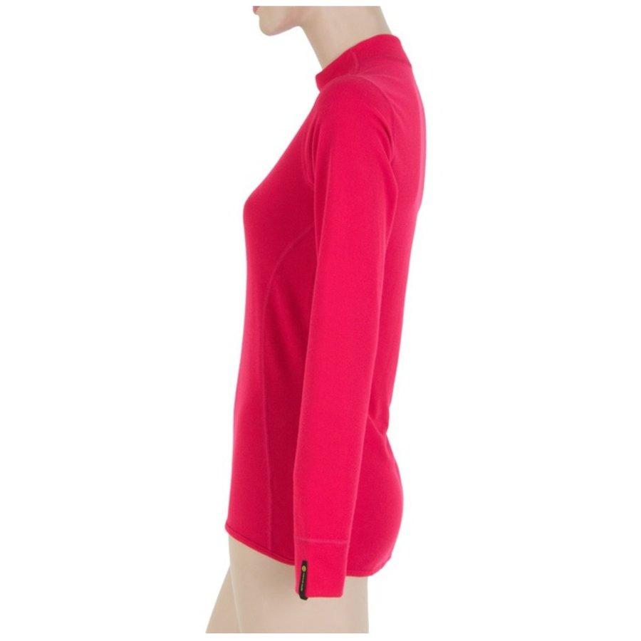 Růžové dámské tričko s dlouhým rukávem Sensor - velikost M