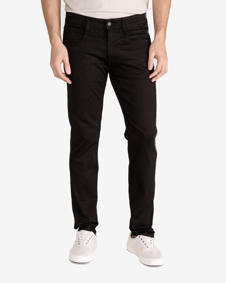 Černé pánské džíny Replay