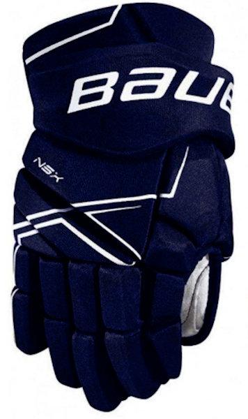 """Červené hokejové rukavice - senior NSX, Bauer - velikost 14"""""""