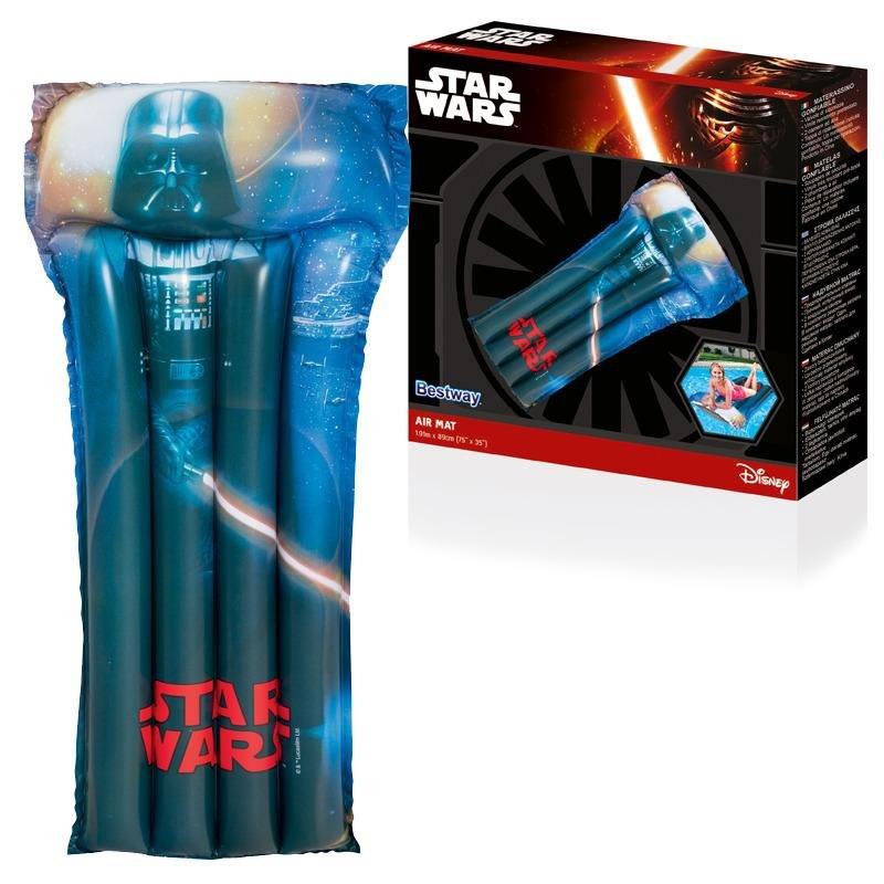 """Různobarevné nafukovací lehátko """"Star Wars"""" - délka 191 cm a šířka 89 cm"""